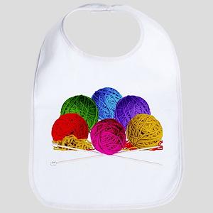 Great Balls of Bright Yarn! Bib