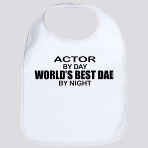 World's Greatest Dad - Actor Bib