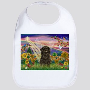 Autumn Angel /Affenpinscher Bib