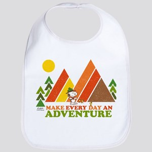Snoopy-Make Every Day An Adventure Bib