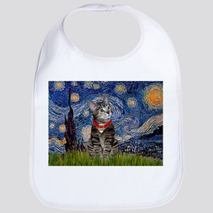 Starry Night / Tiger Cat Bib