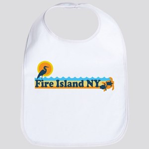 Fire Island - Beach Design Bib