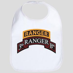 3D Ranger BN with Ranger Tab Baby Bib