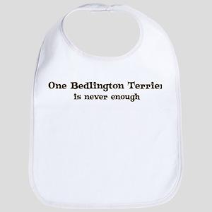 One Bedlington Terrier Bib