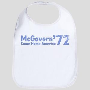 McGovern '72 Baby Bib