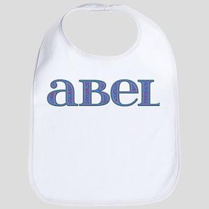 Abel Blue Glass Bib