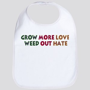 Grow More Love Cotton Baby Bib