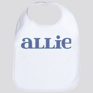 Allie Blue Glass Bib