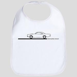 1968-69 Roadrunner Black Car Bib
