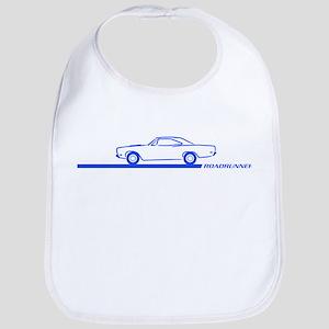 1968-69 Roadrunner Blue Car Bib