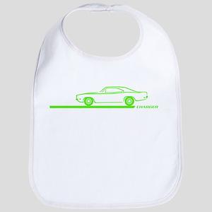 1968-70 Charger Lime Car Bib