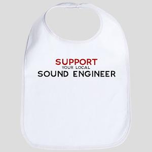 Support:  SOUND ENGINEER Bib