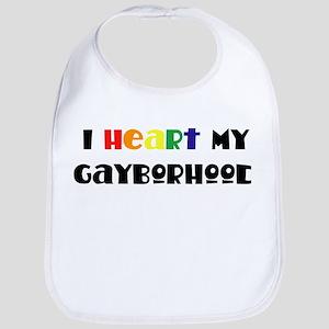 Gayborhood Bib