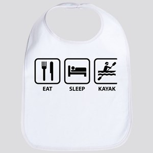 Eat Sleep Kayak Bib
