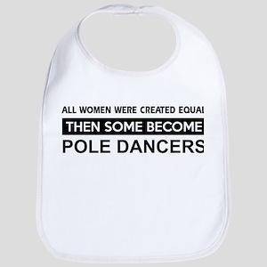 pole dance designs Bib