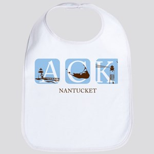 Nantucket Island Bib
