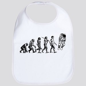 Astronaut Evolution Bib