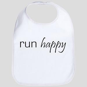Run Happy Bib