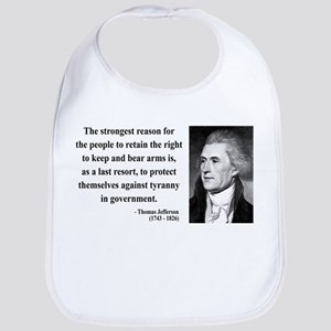 Thomas Jefferson 7 Bib