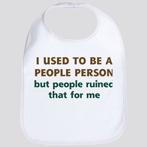 People Person Humor Bib
