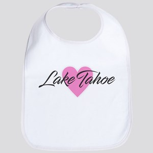 I Heart Lake Tahoe Baby Bib