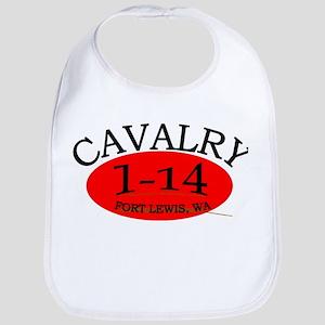 1st Squadron 14th Cavalry Bib