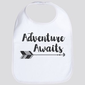 Adventure Awaits Baby Bib