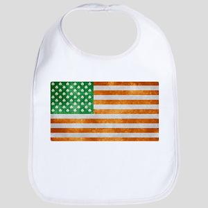 Irish American Flag Bib