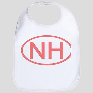 NH Oval - New Hampshire Bib