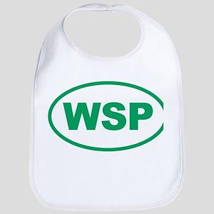 WSP Green Euro Oval Bib