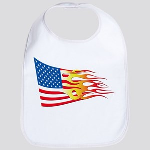 Hot Rod Flag Bib