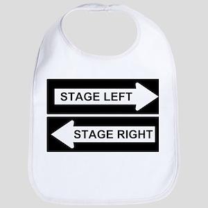 Stage Left Cotton Baby Bib