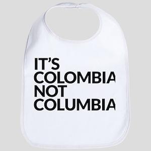 Colombia Not Columbia Bib