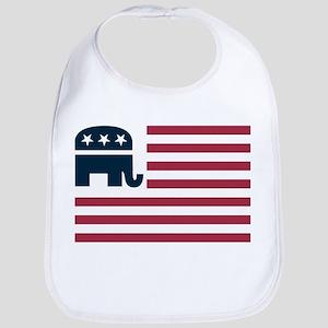 GOP Flag Bib