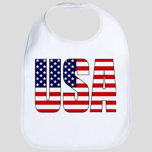 USA Flag Bib