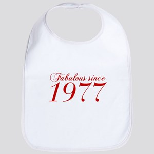 Fabulous since 1977-Cho Bod red2 300 Bib