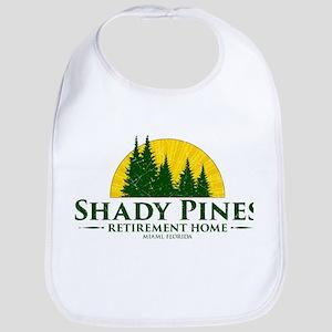 Shady Pines Logo Bib