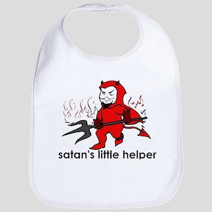 Satan's little helper Bib