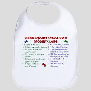 Doberman Pinscher Property Laws 2 Bib