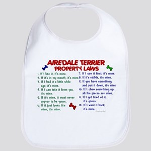 Airedale Terrier Property Laws 2 Bib