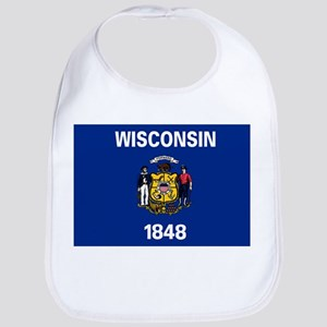 Wisconsin State Flag Bib