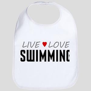 Live Love Swimming Bib