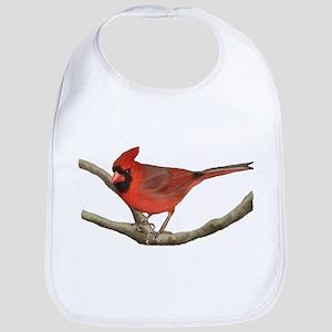 Cardinal Baby Bib