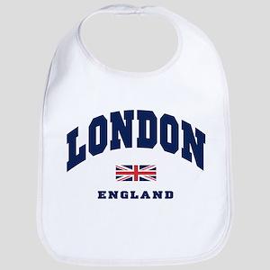 London England Union Jack Bib