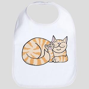 OrangeTabby ASL Kitty Bib