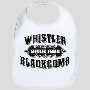 Whistler Blackcomb Old Black Bib