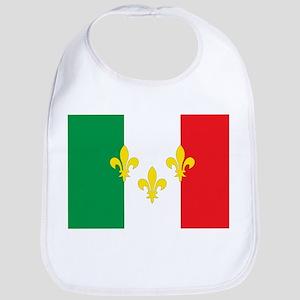 Italian French Design Bib