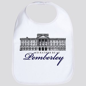 Id rather be at Pemberley Baby Bib