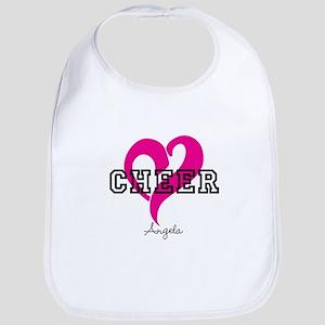 Love Cheer Heart Bib