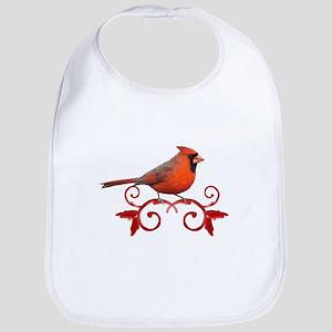 Beautiful Cardinal Bib